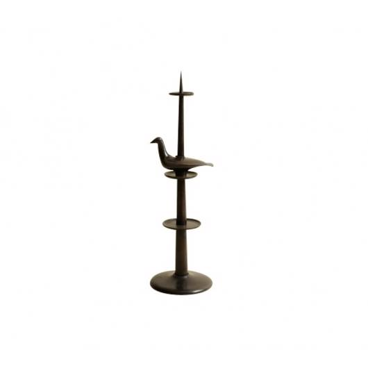 Picture of BRONZE BIRD CANDLESTICK