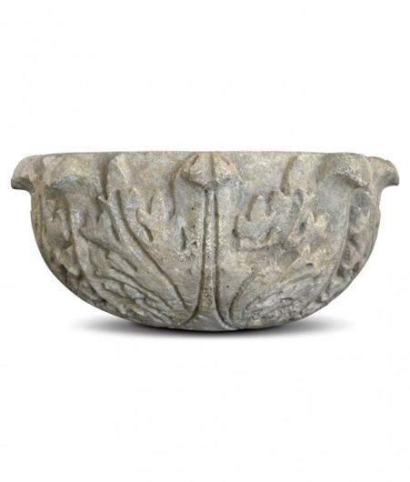 Picture of PLANTER WITH SCROLL LEAF DETAIL