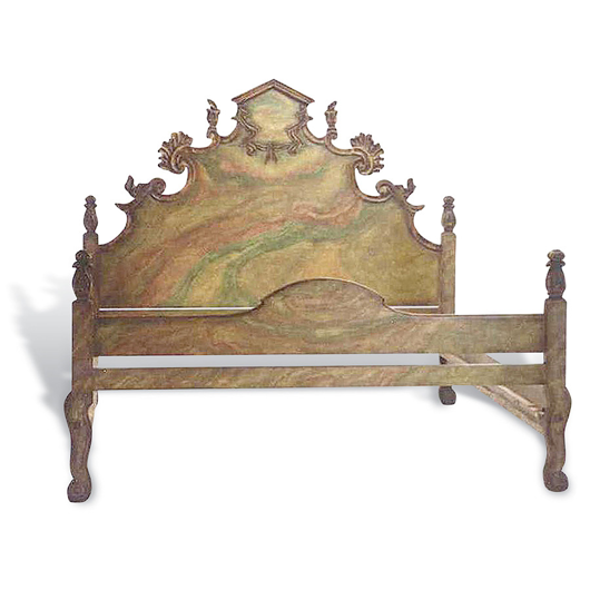 Picture of CARVED ITALIAN BED