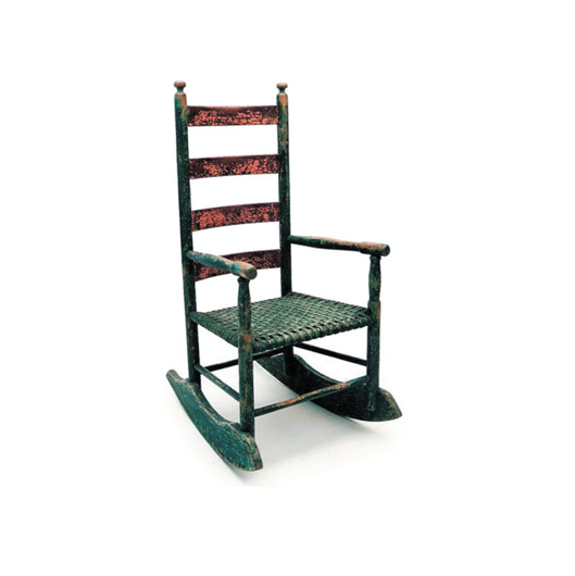Picture of CHEESE CUTTER ROCKER CHAIR