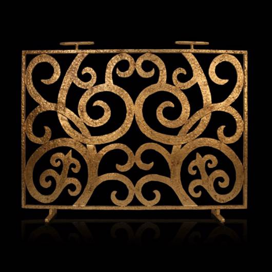 Picture of BELLA GOLD FIRE SCREEN