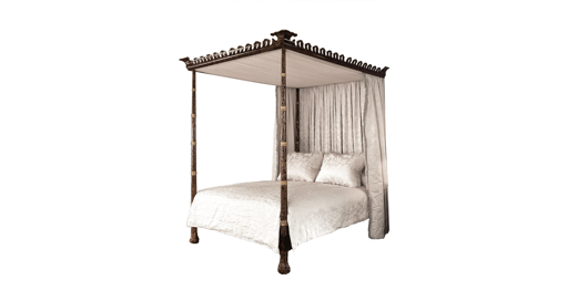 Picture of KEMPNER BED WITH CANOPY
